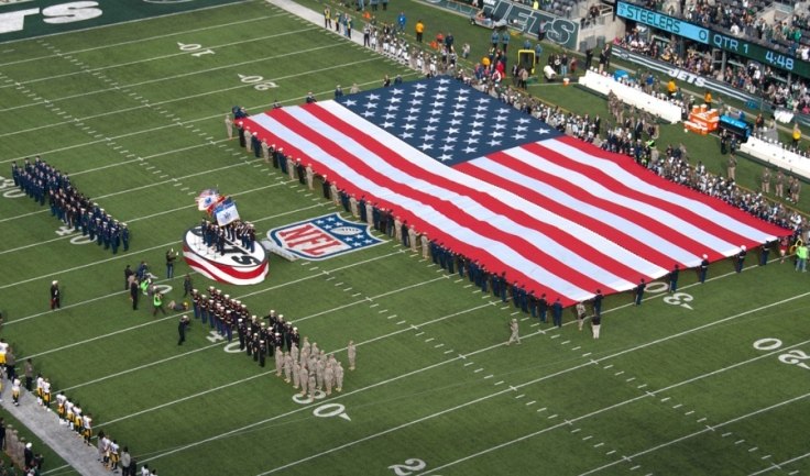 NFL US Flag